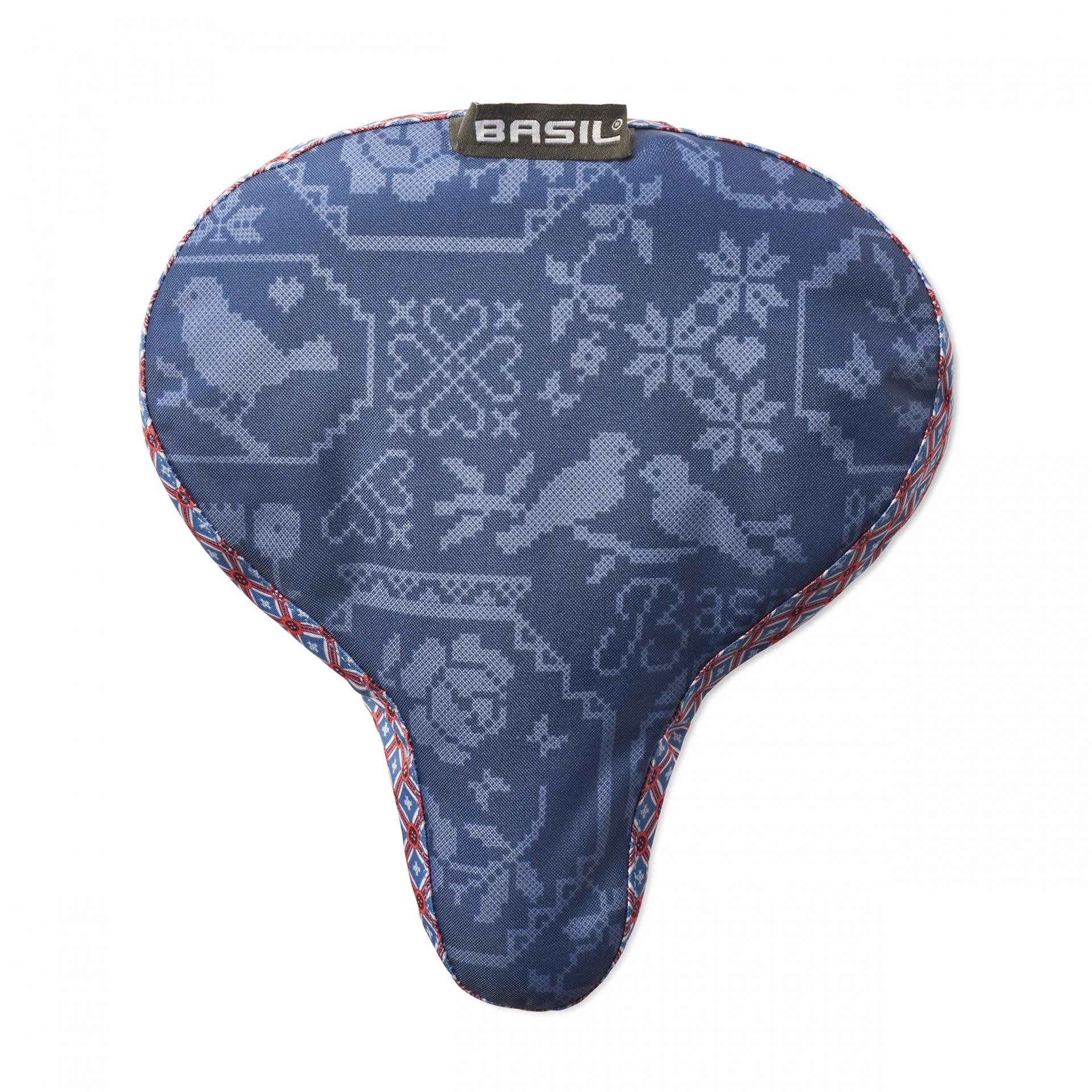 Couvre-selle BASIL Boheme Bleu Indigo