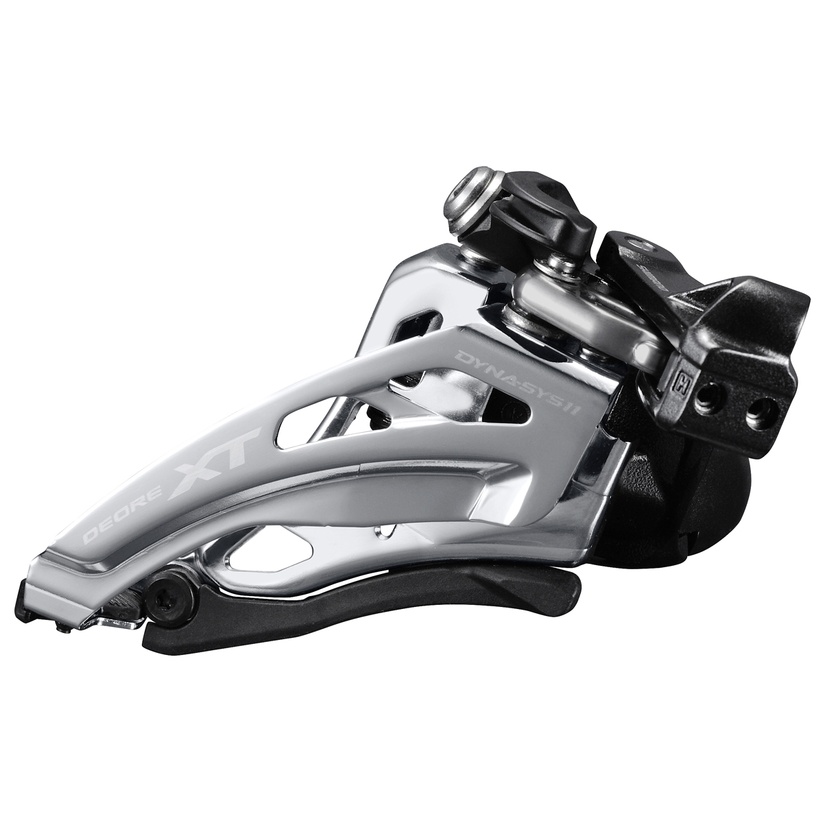 Dérailleur avant Shimano XT M8020 2x11 Side-Swing Collier Bas 34.9-31.8-28.6 mm