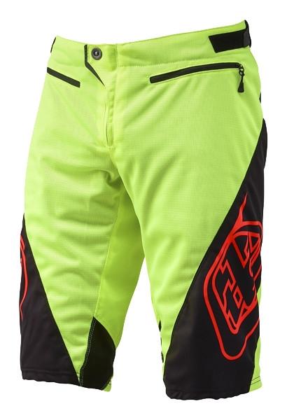 Short Troy Lee Designs Sprint jaune fluo - 34