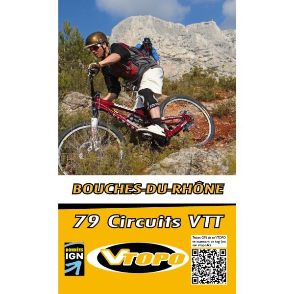 VTOPO guide VTT Bouches du Rhône
