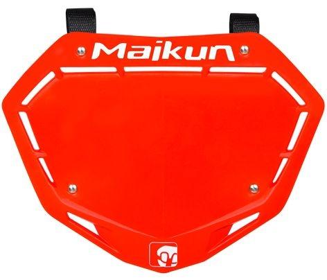 Plaque frontale Maikun 3D Plate Pro Rouge
