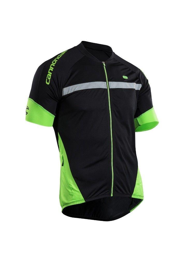 Maillot Sugoi RS Century Zap Jersey Noir/Vert - S