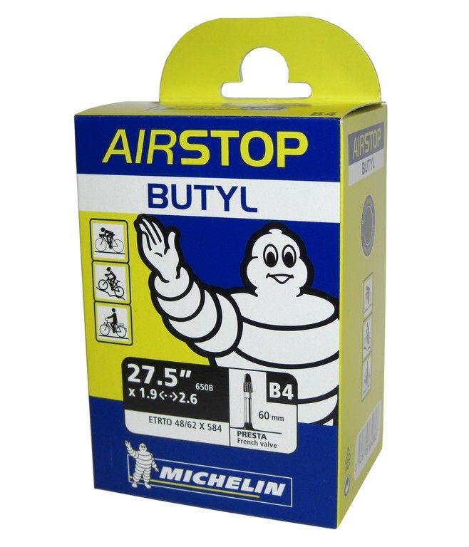 Chambre à air Michelin 27.5x1.9/2.6 B4 Airstop Schrader 36 mm