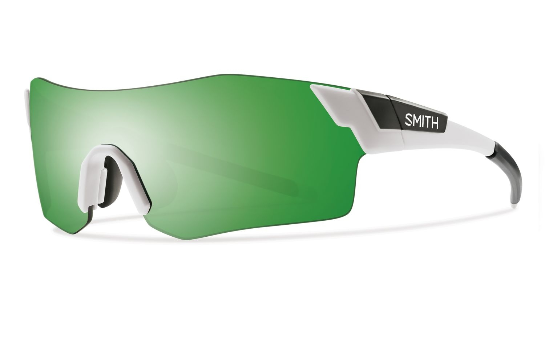 Lunettes Smith Optics PivLock Arena Mat Blanc Vert Sol-X