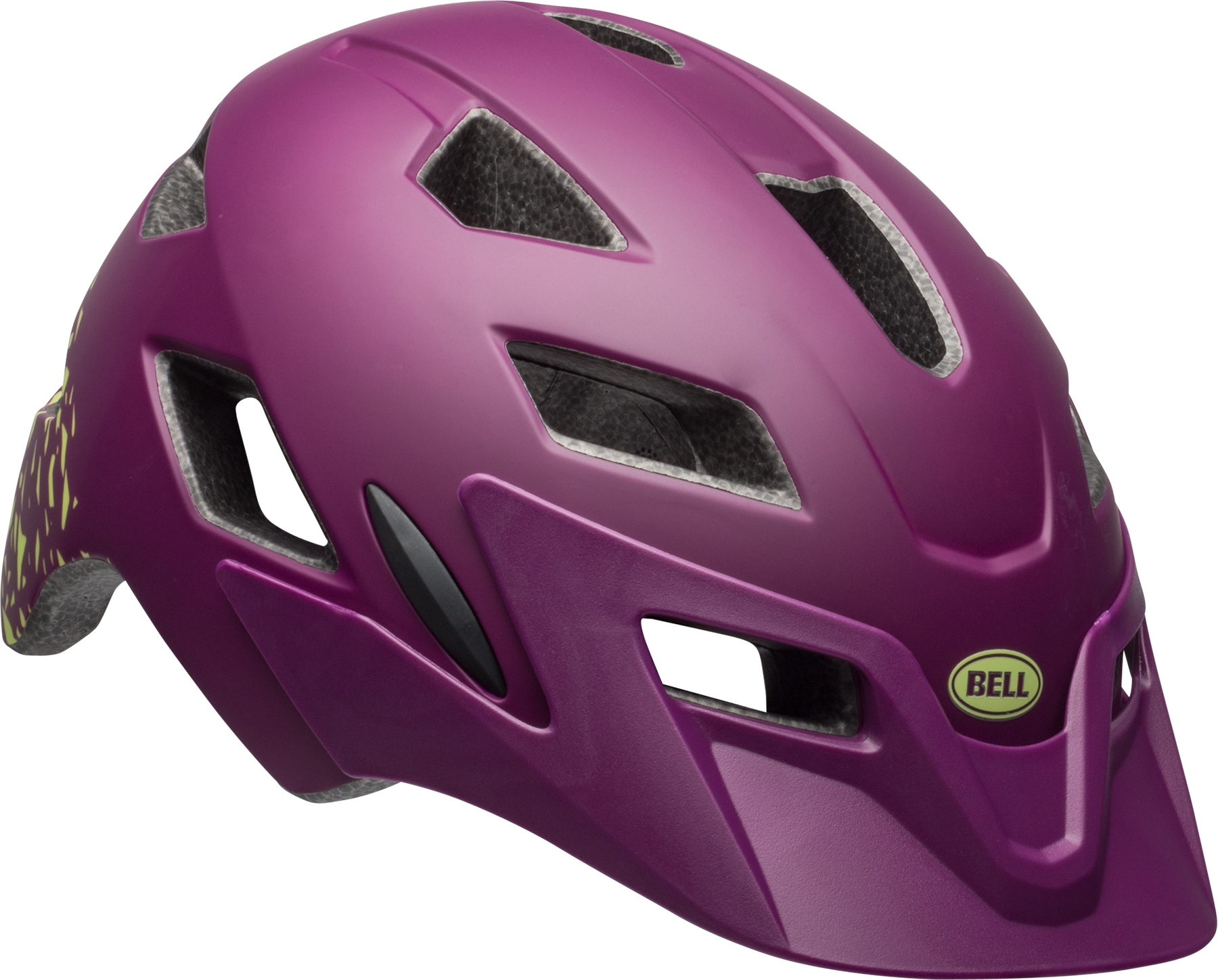 Casque enfant Bell SIDETRACK CHILD Plum mat/Pear