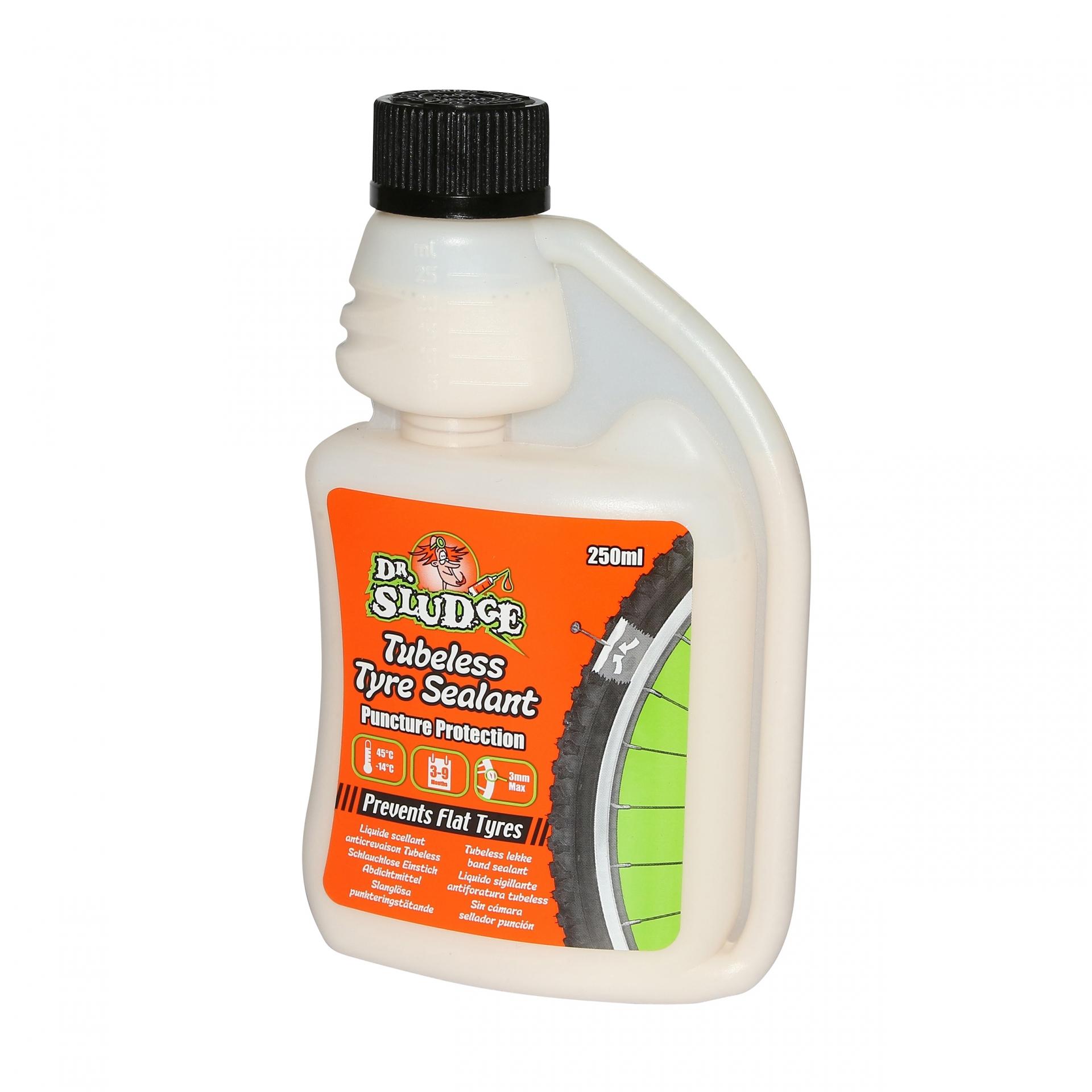 Préventif anti-crevaison Dr Sludge pour Tubeless 250 ml