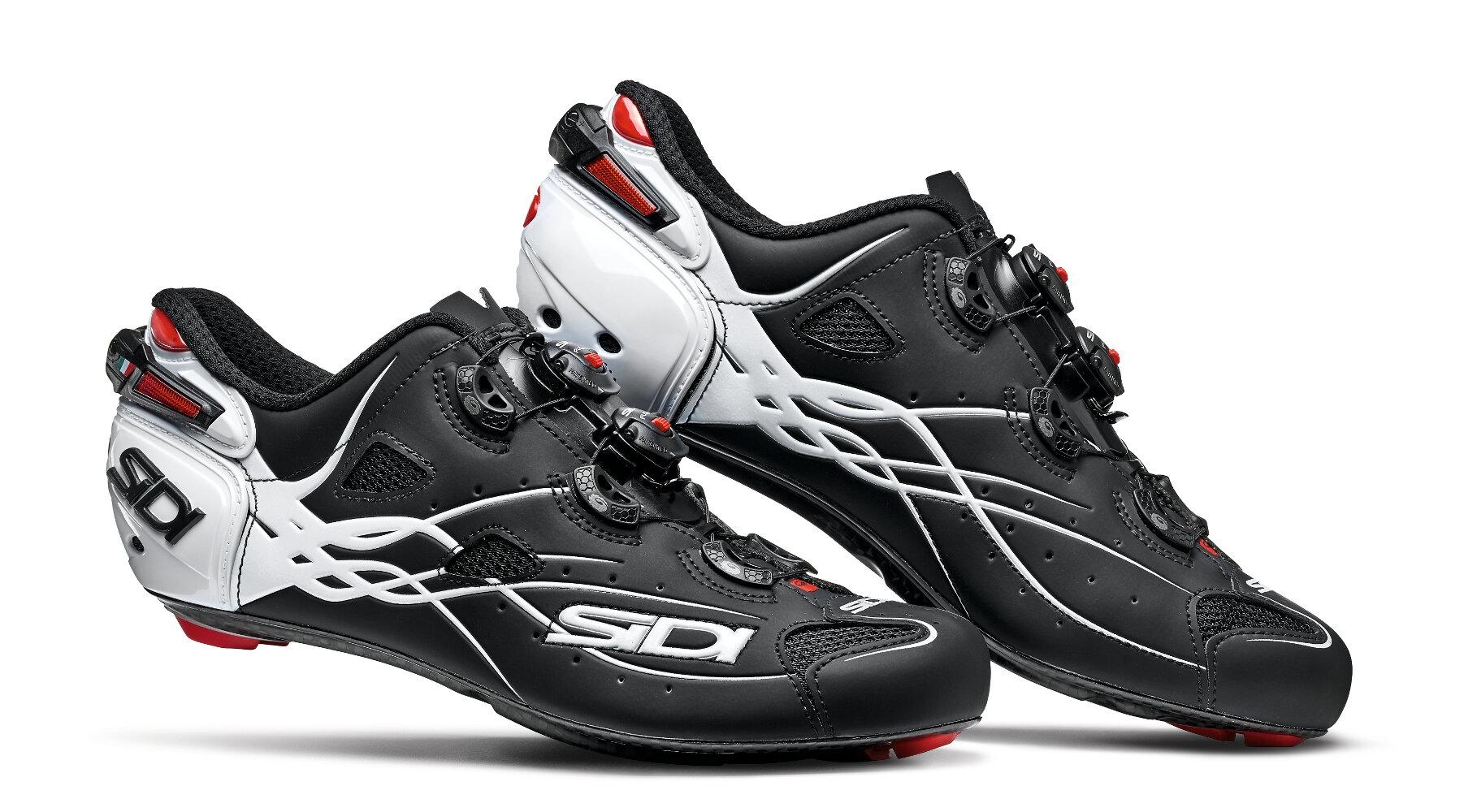 Chaussures Sidi SHOT Noir mat/Blanc - 45