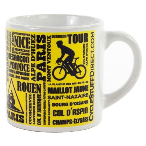 Tasse à café Tour de France Jaune