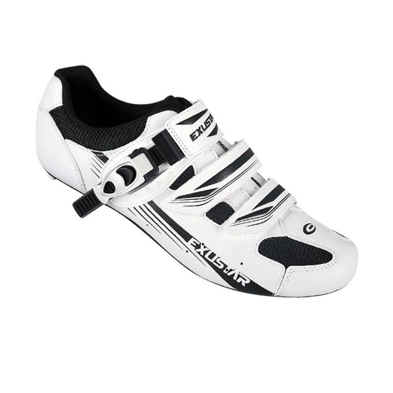Chaussures route Exustar Sport E-SR4123AB Blanc/Noir - 40