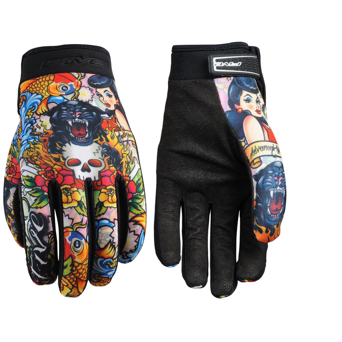 Gants Five Planet Fashion Tattoo Cougar - XXL