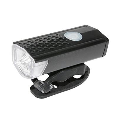 Éclairage AV à LED 300 lumens À batterie USB Fix. sur cintre Noir