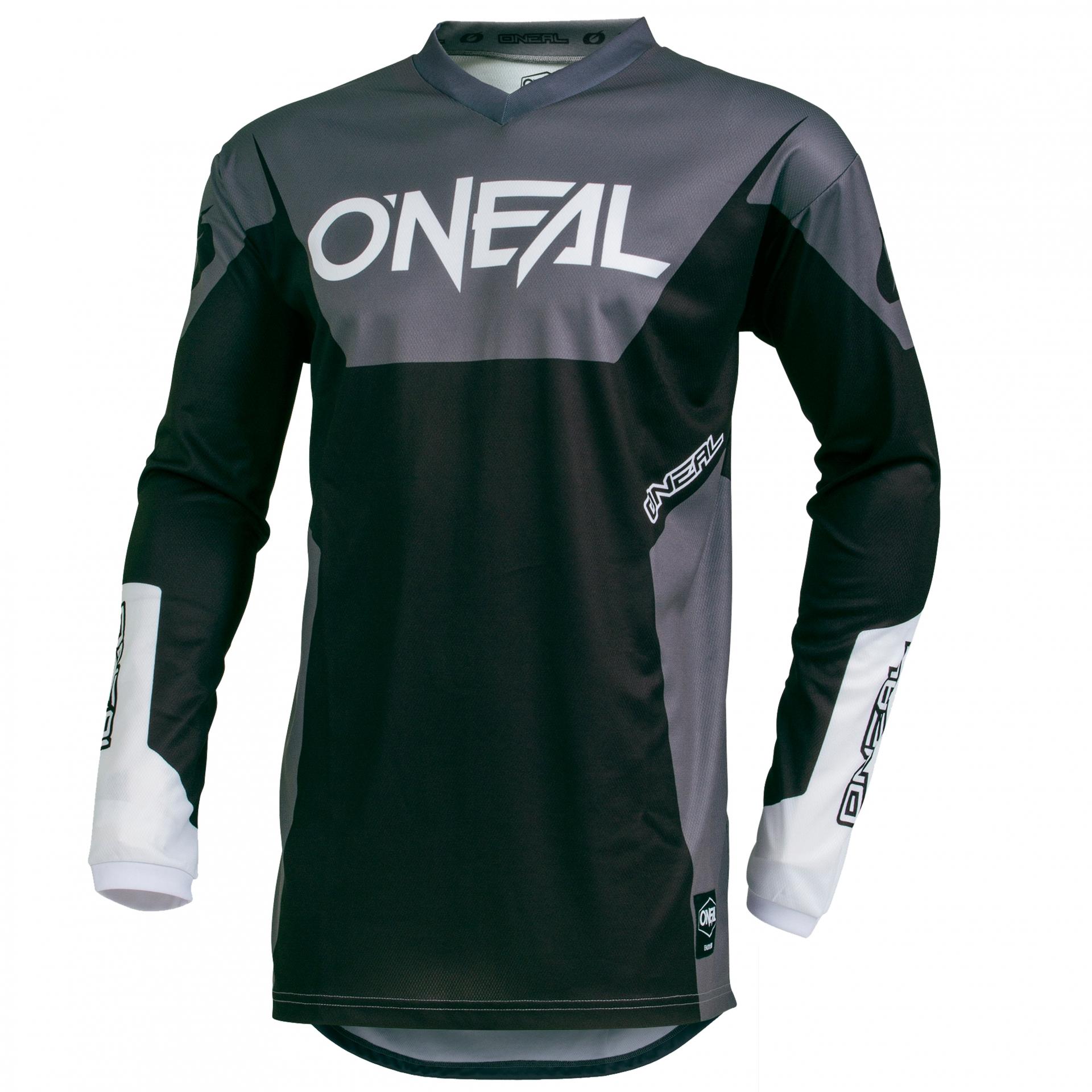 Maillot VTT O'Neal Element Jersey Racewear Noir - XXXXL
