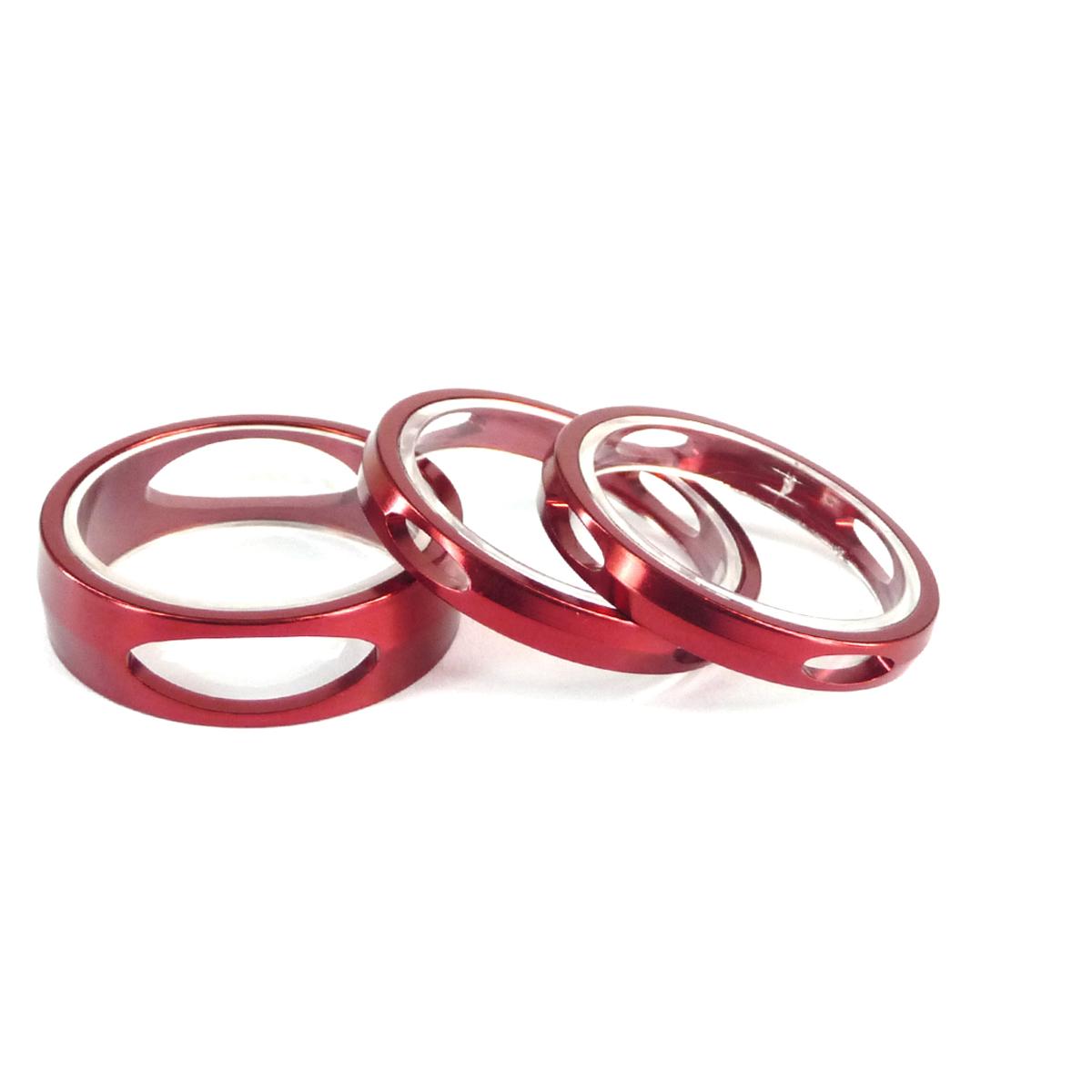 Entretoise Ahead-Set Token 3D rouge (2x5 mm + 1x10 mm)