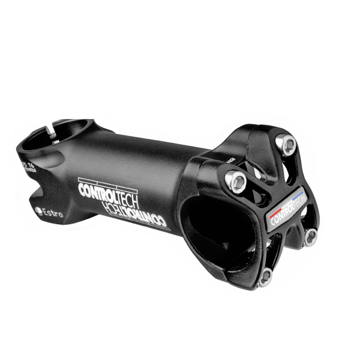 Potence Controltech Estro alu 31.8 mm L. 120 mm +/-5D Noir