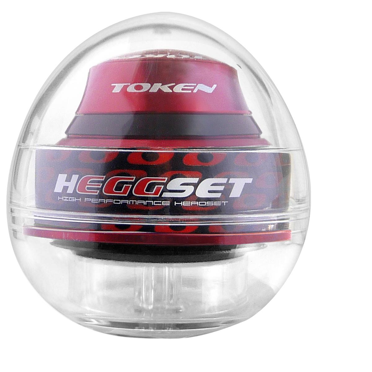 Jeu de direction Token hEGGset Taper intégré/semi-intégré droit/conique 1.1/8\