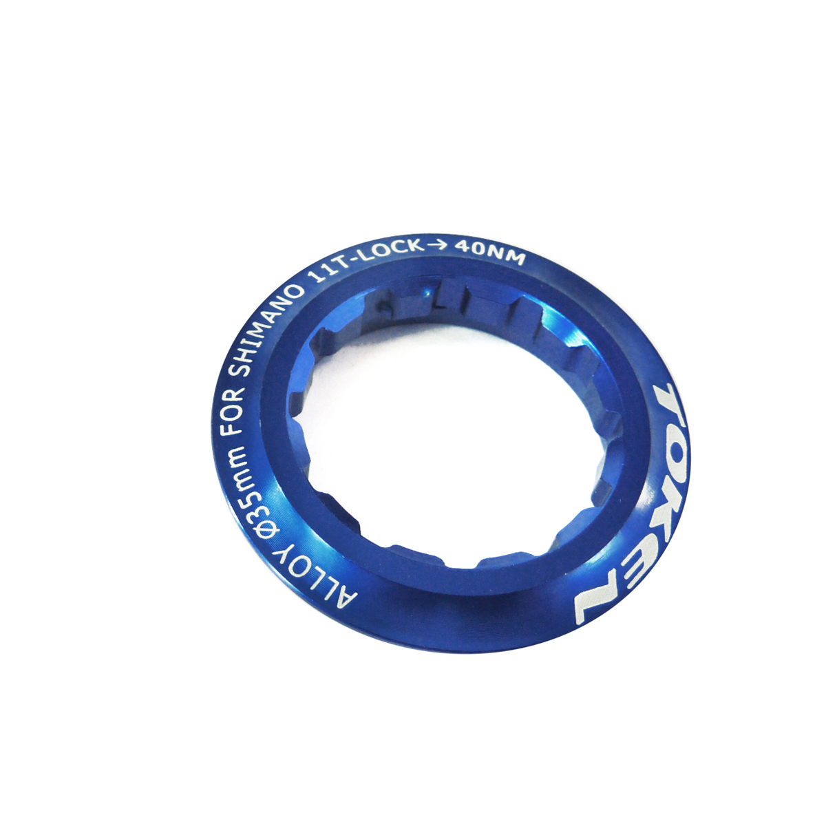 Écrou de cassette Token Shimano 11 dents Bleu