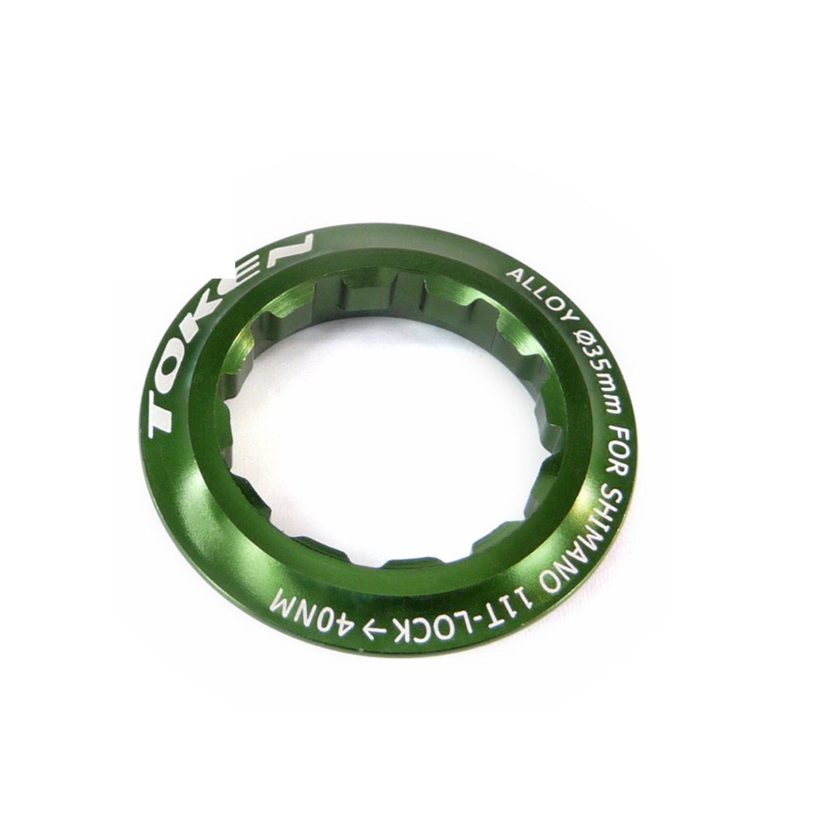 Écrou de cassette Token Shimano 11 dents Vert