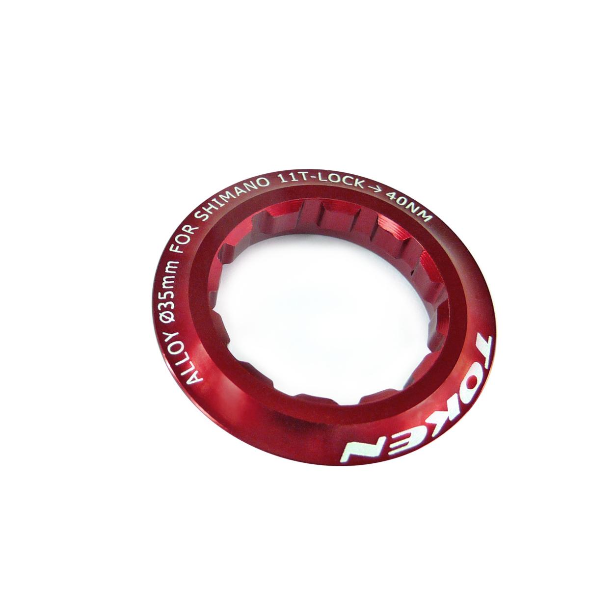 Écrou de cassette Token Shimano 11 dents Rouge