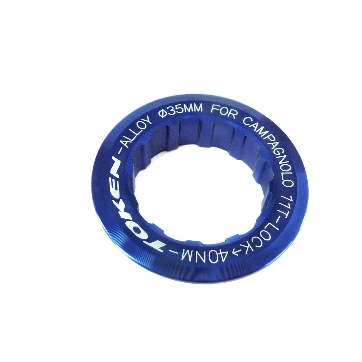 Écrou de cassette Token Campagnolo 11 dents Bleu
