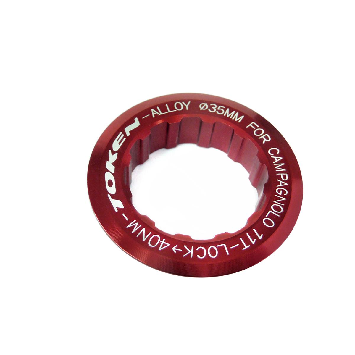 Écrou de cassette Token Campagnolo 11 dents Rouge