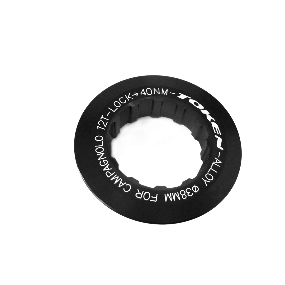 Écrou de cassette Token Campagnolo 12 dents Noir