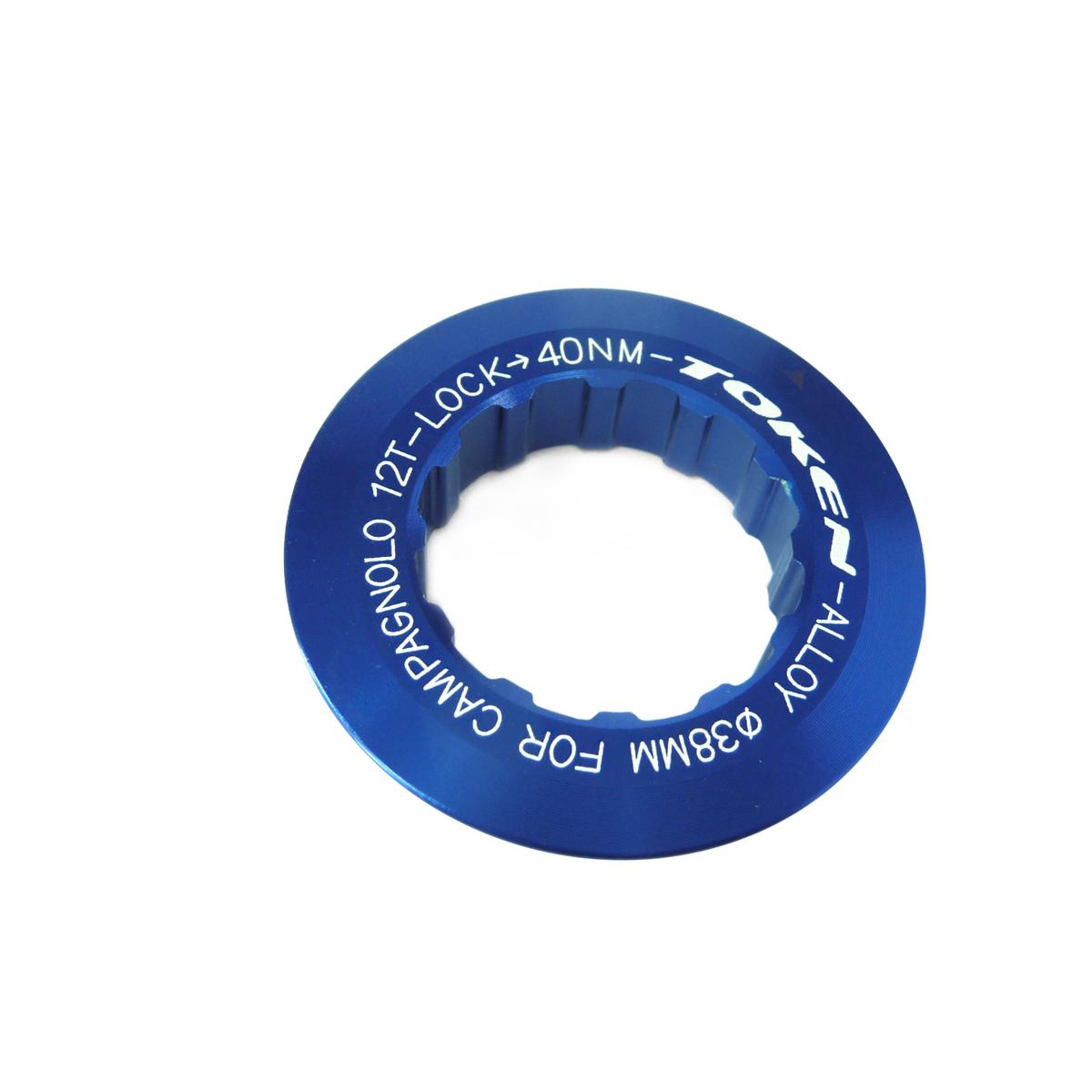 Écrou de cassette Token Campagnolo 12 dents Bleu