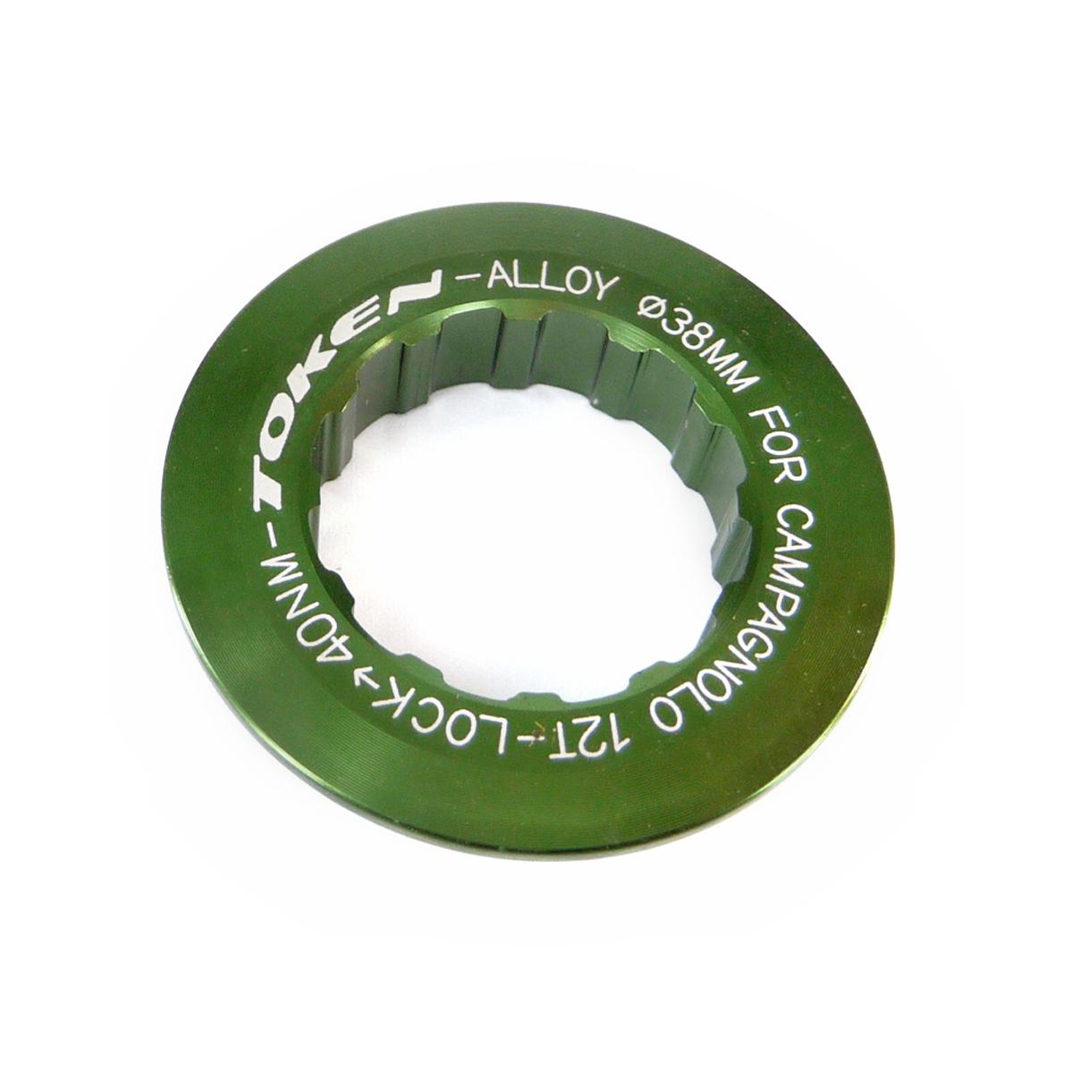 Écrou de cassette Token Campagnolo 12 dents Vert