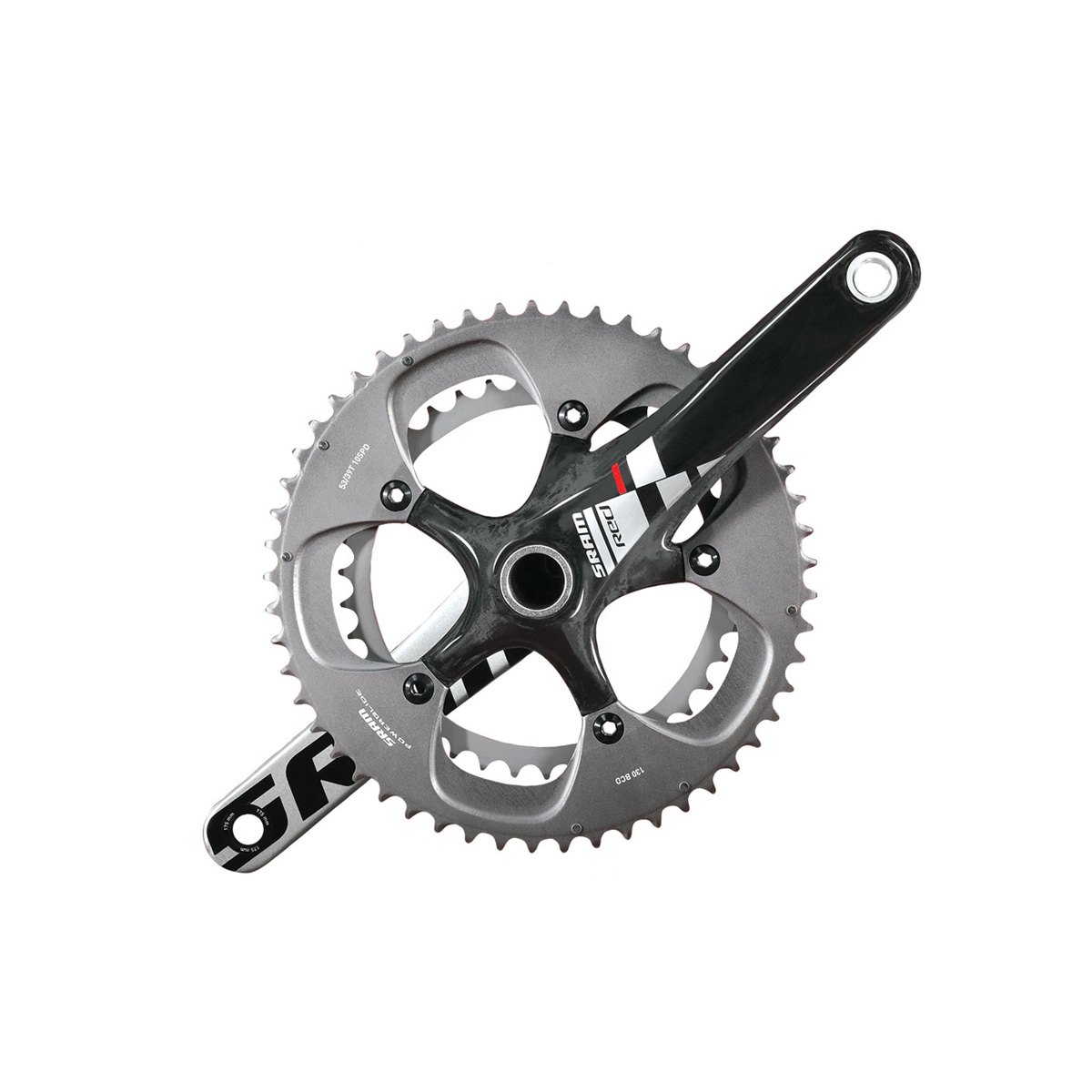 Pédalier double SRAM Red BB30 53-39 170 mm