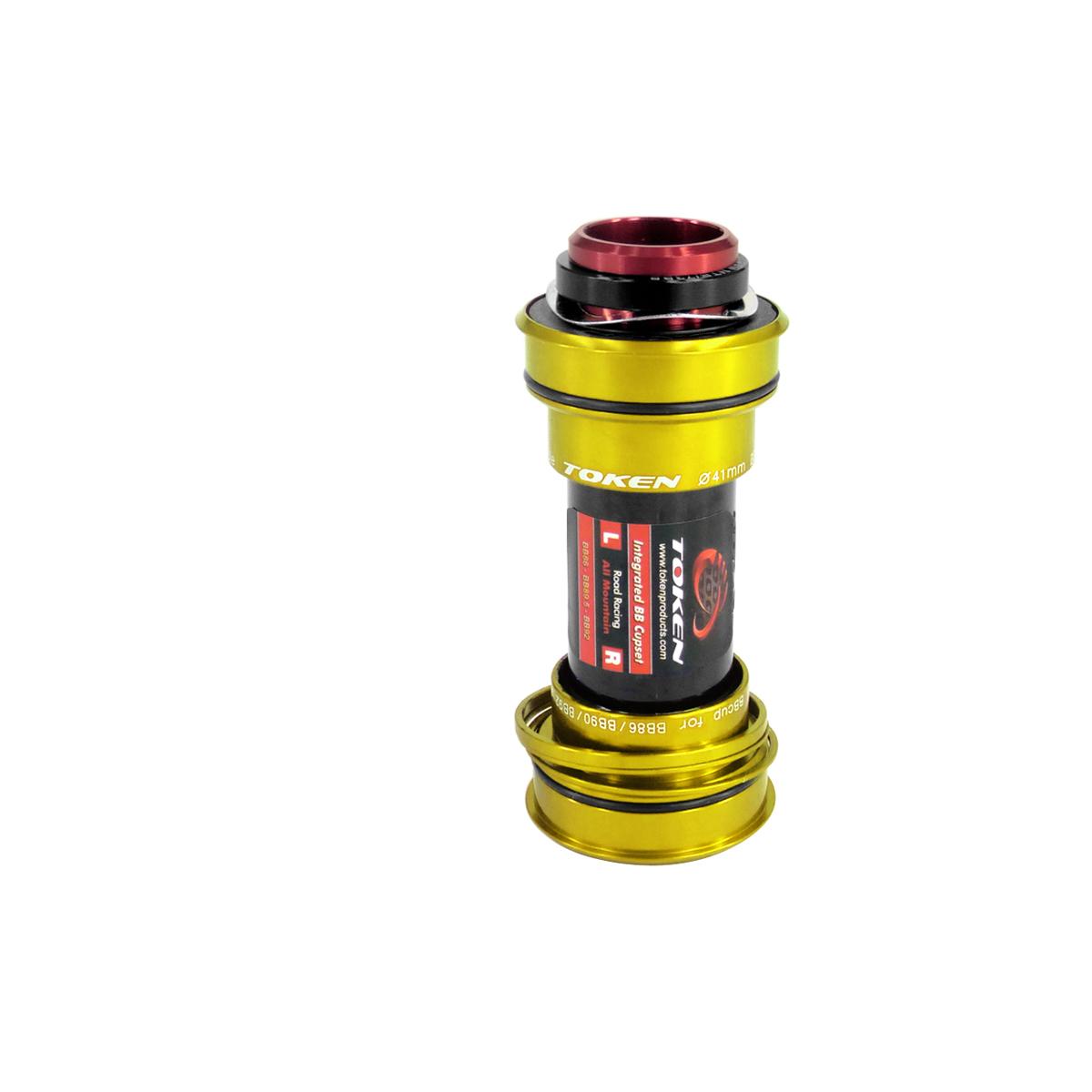 Adaptateur 3 en 1 Token BB86/90/92 Shimano / SRAM 24 mm Or