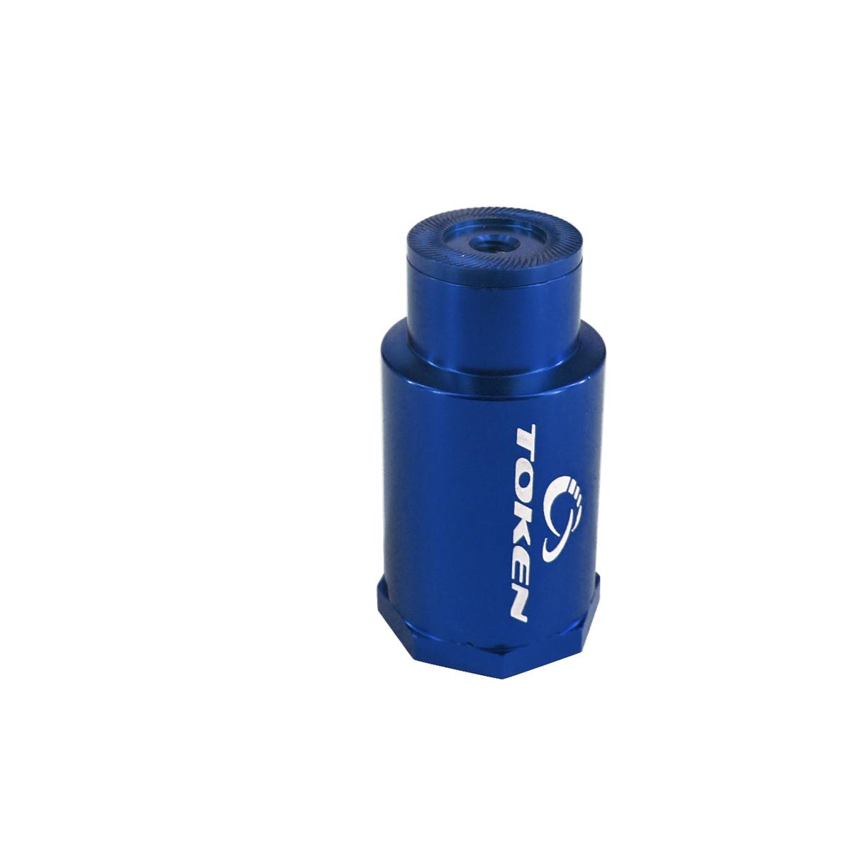 Fixation lampe token bleu 26 g