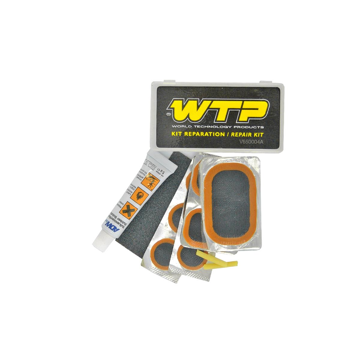 Nécessaire de réparation WTP (rustines + tube dissolution)