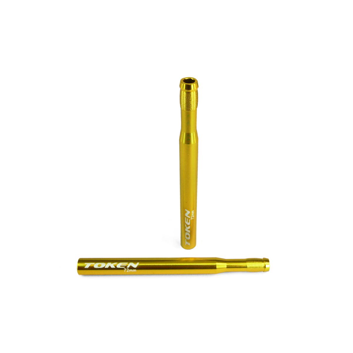 Prolongateur de valve Token 72 mm (2 pièces) Or