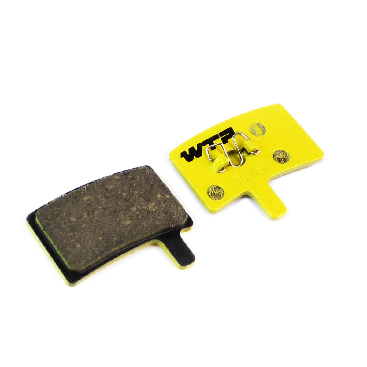 Plaquettes de frein vélo WTP compatibles Hayes Stroker Trail / Carbon / Gram