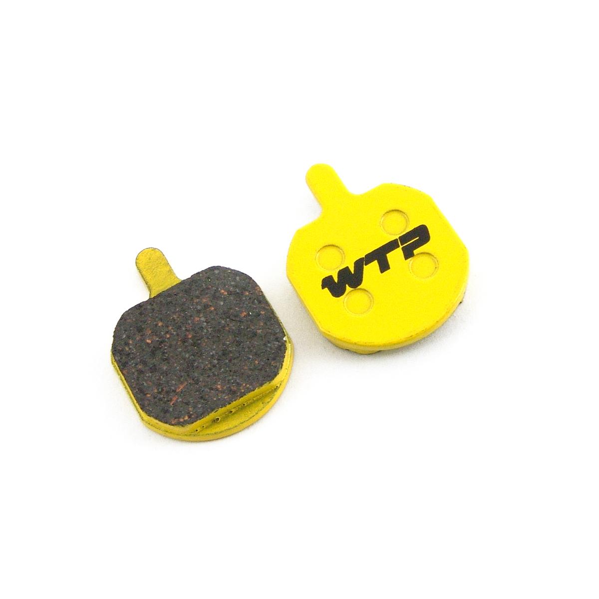 Plaquettes de frein vélo WTP compatibles Hayes Sole GX2 / MX2 / MX3 / MX4 et Sole mechanical