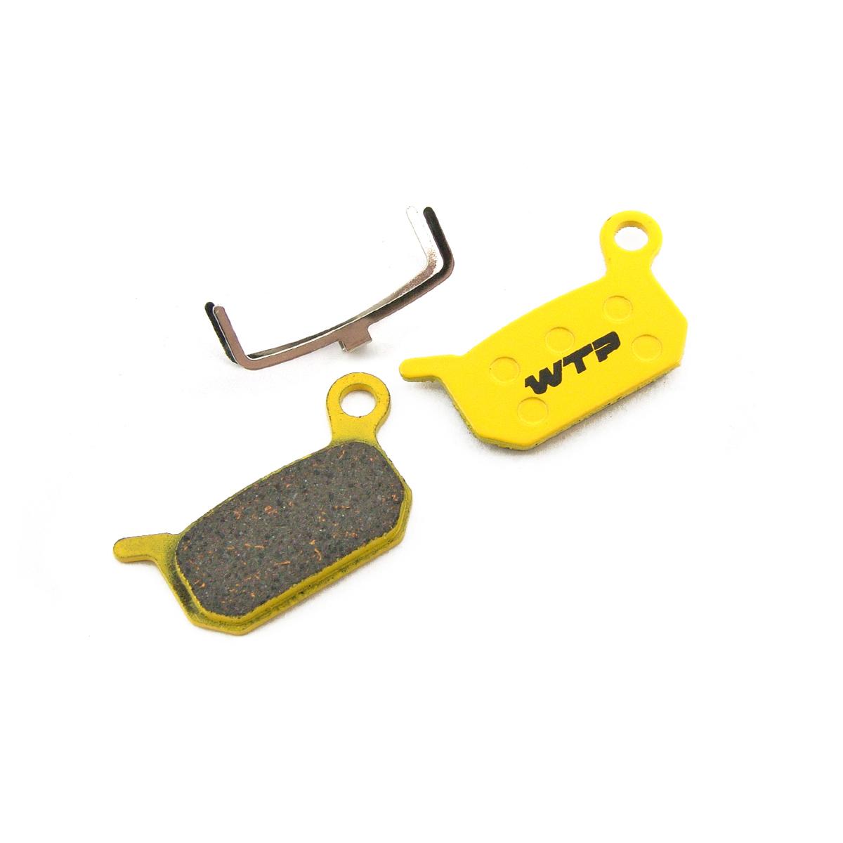 Plaquettes de frein vélo WTP compatibles Formula B4, Extreme FR/DH et Grimeca System 13