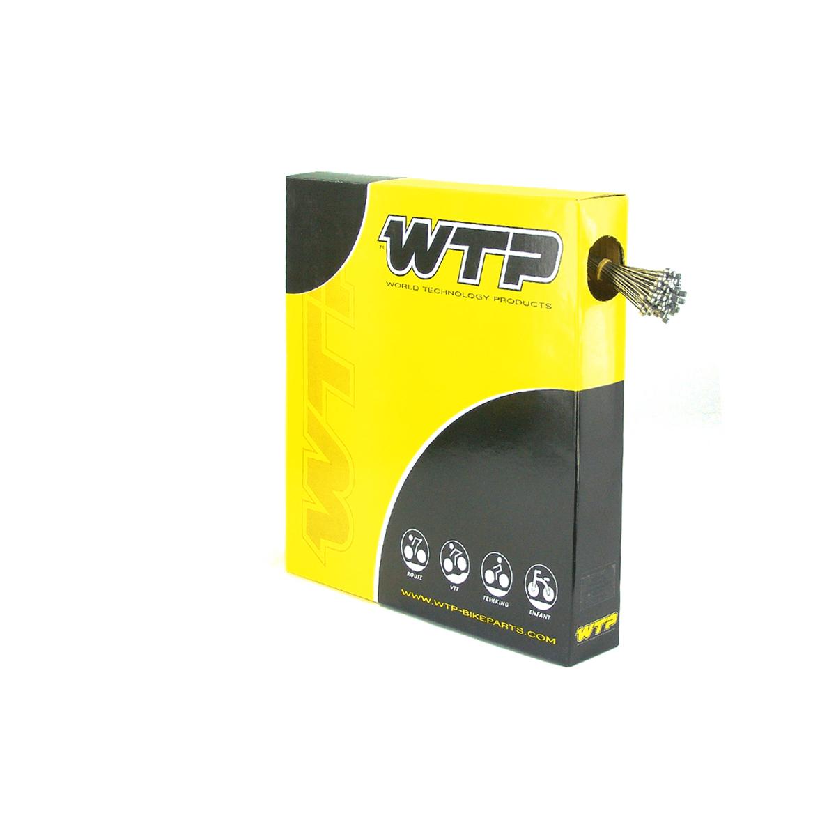Câble de dérailleur WTP Inox 2000 mm (Boîte de 100)