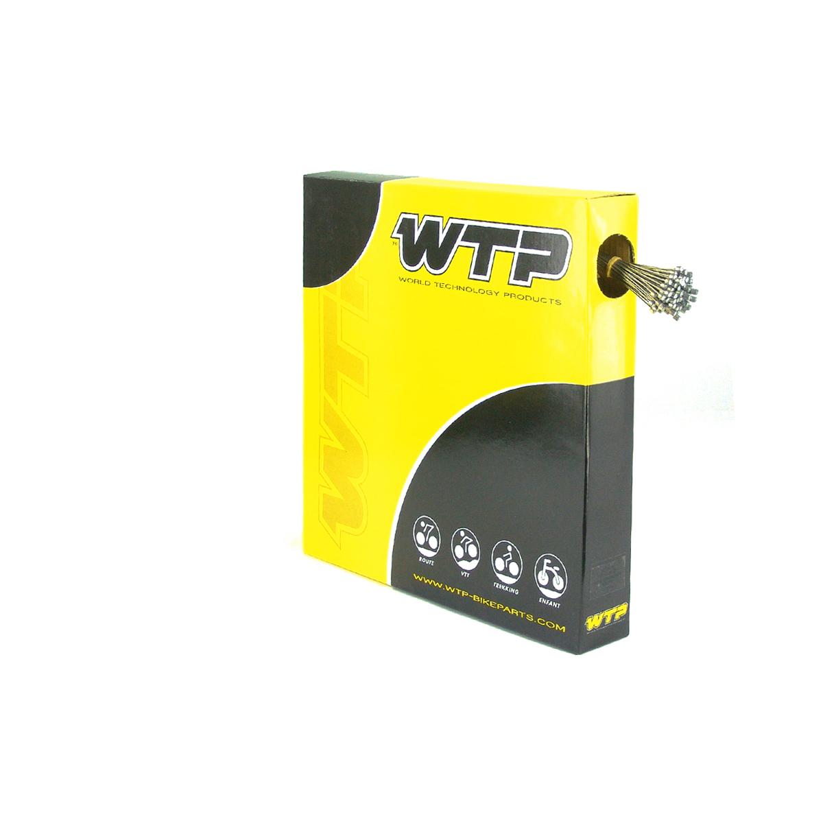 Câble frein vélo WTP VTT acier inoxydable (boîte de 100)