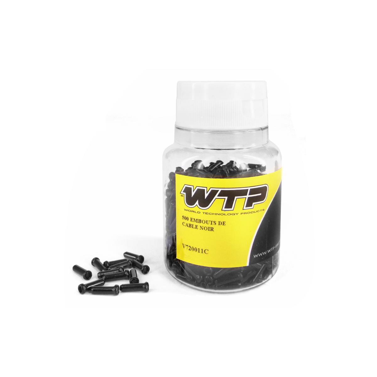 Embouts de câble WTP noir (boite de 500)