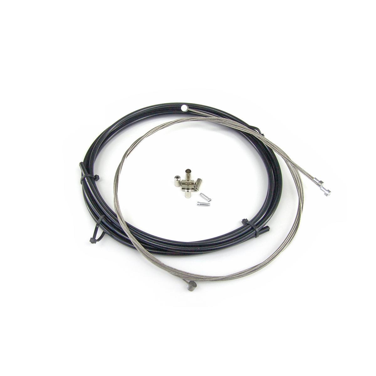 Kit WTP câbles et gaine de frein Noir