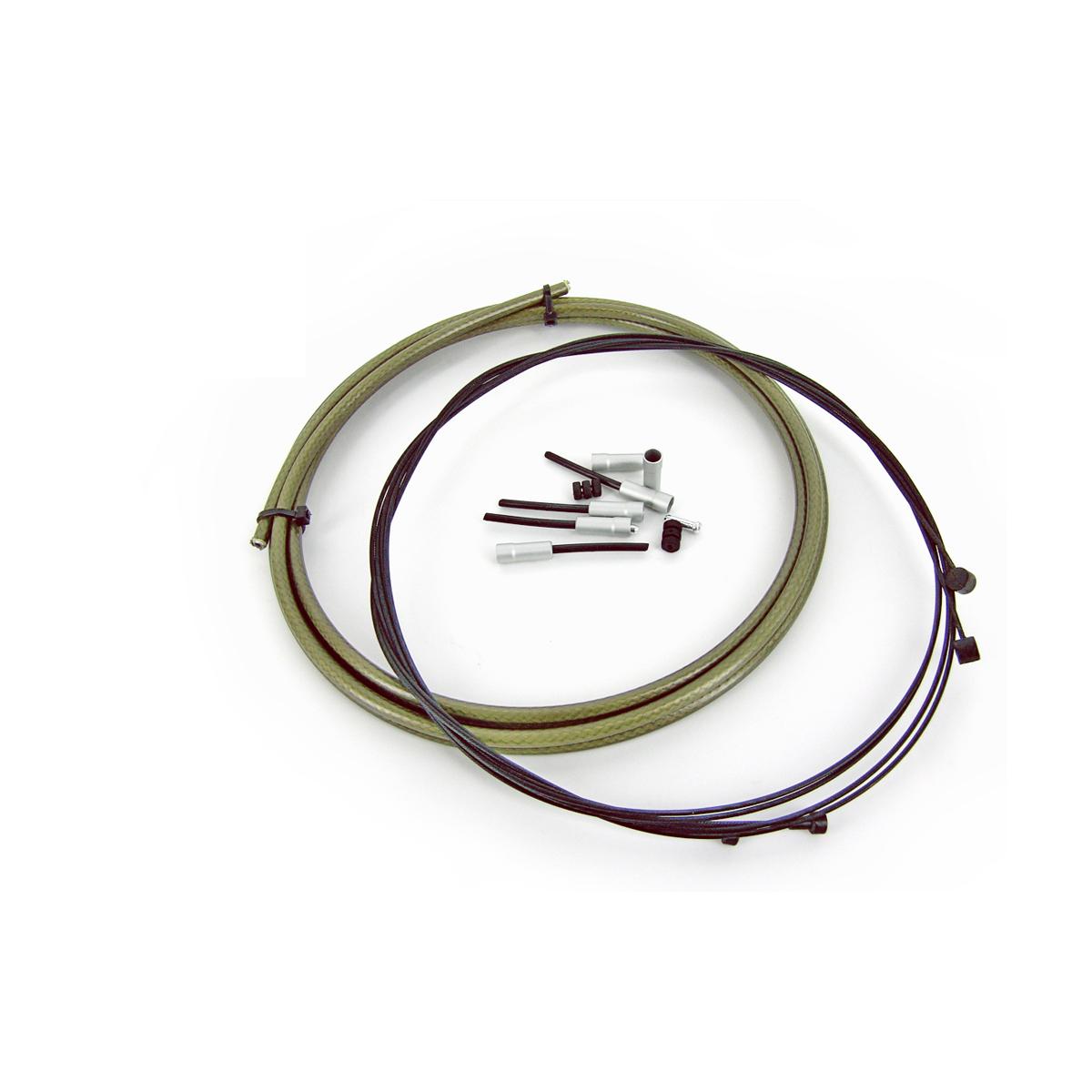Kit WTP câbles au Teflon et gaine étanche de frein Kevlar