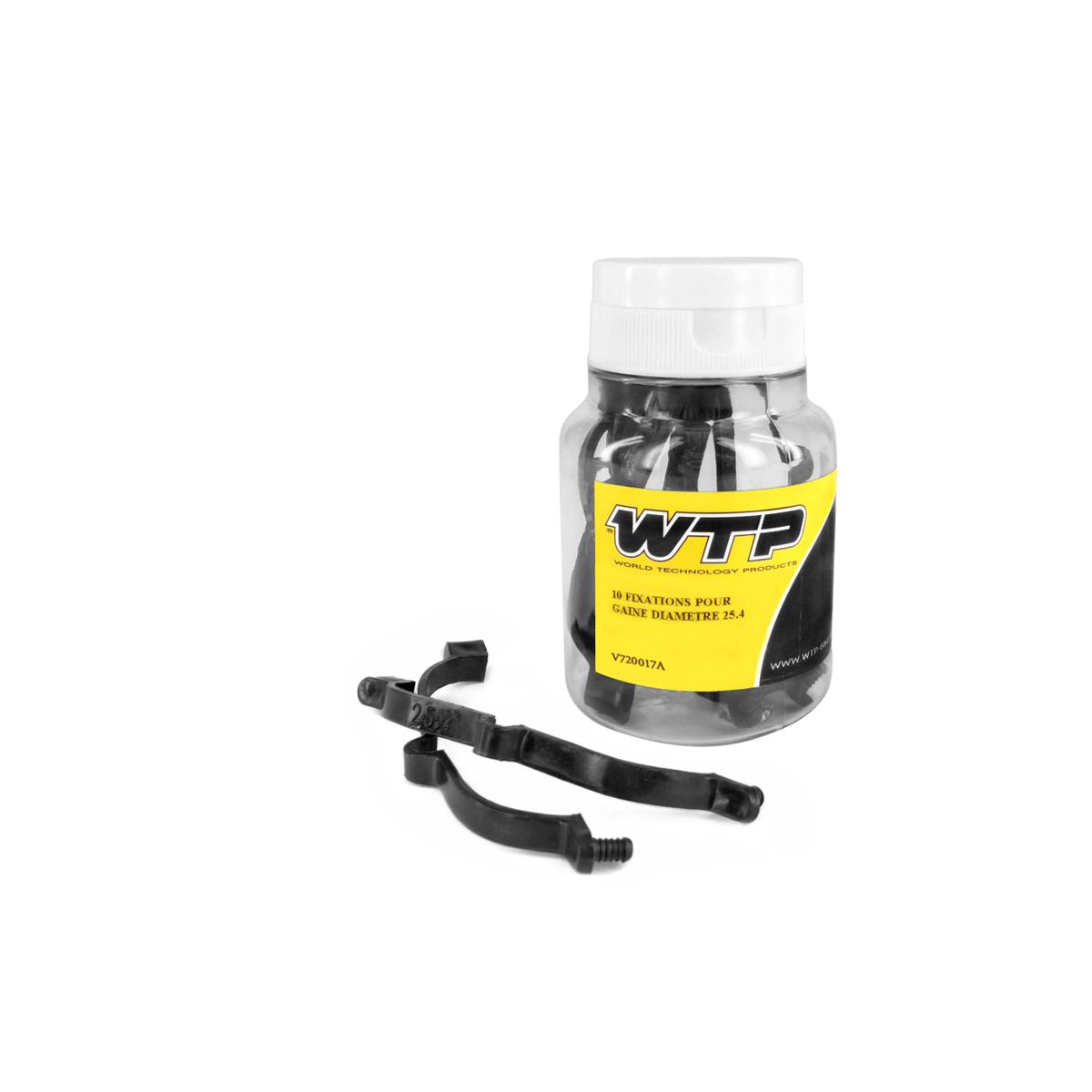 Boîte 10 fixations WTP pour gaine D. 25,4 mm