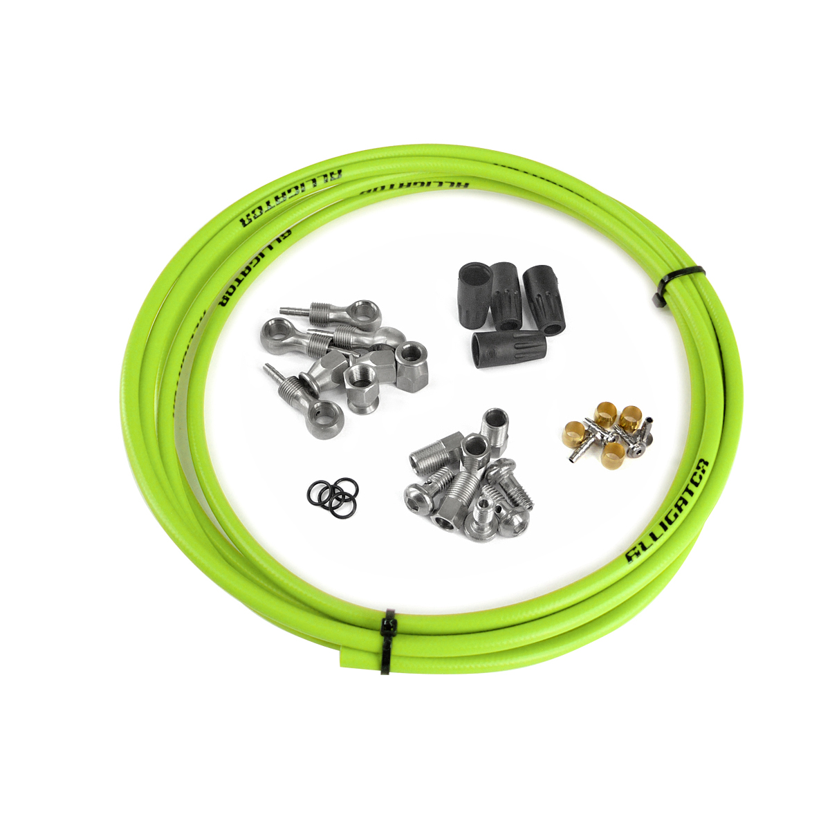 Kit complet durite frein hydraulique universel vert