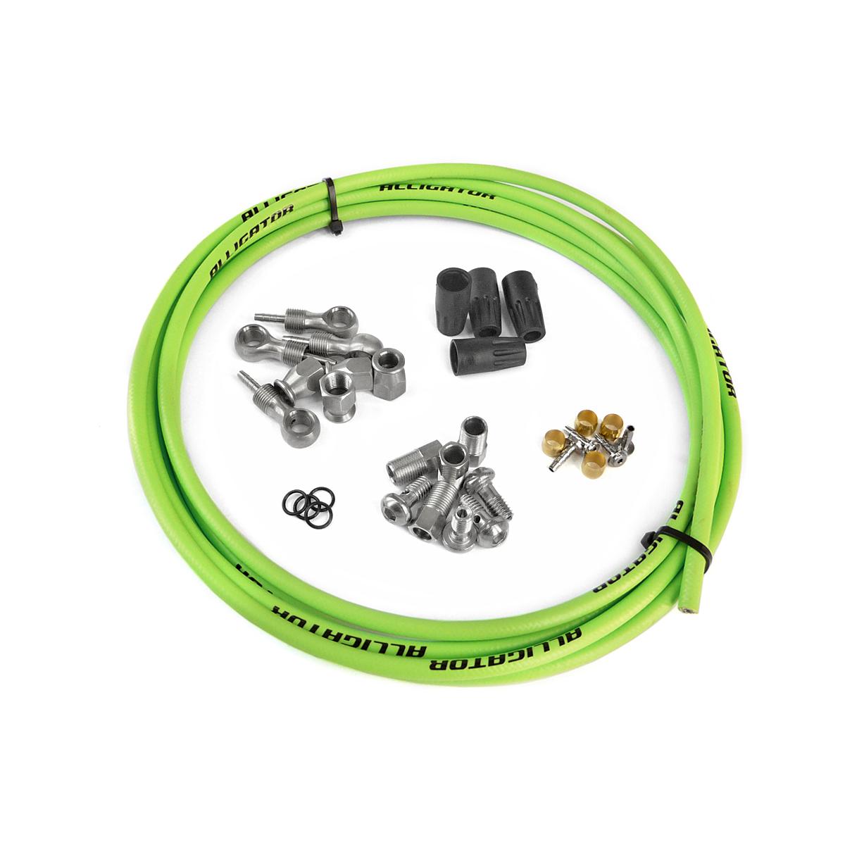 Kit durite compatible Shimano Deore XT / Deore Grimeca Vert