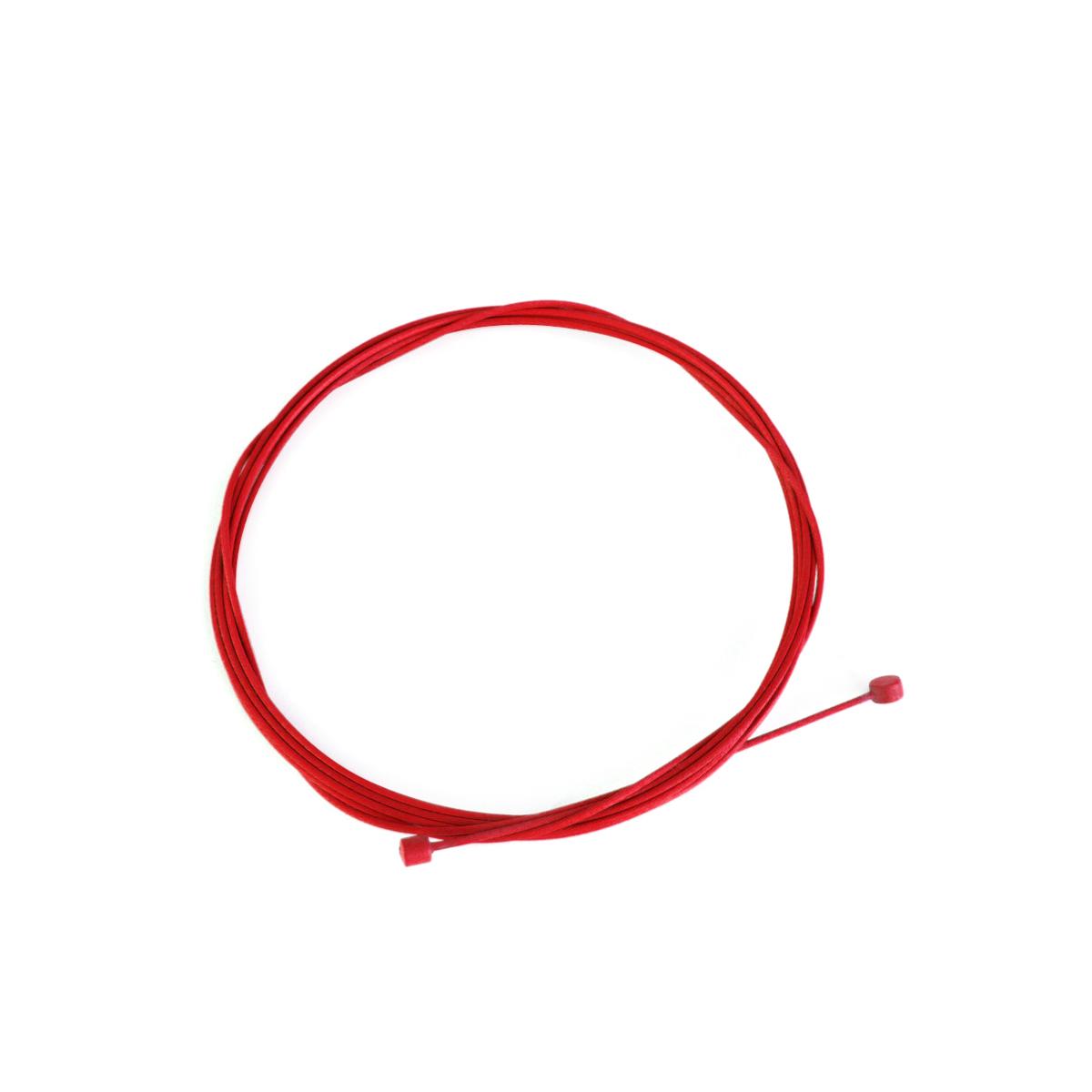 Câble de dérailleur Alligator acier galvanisé 2000x1,2 mm Rouge