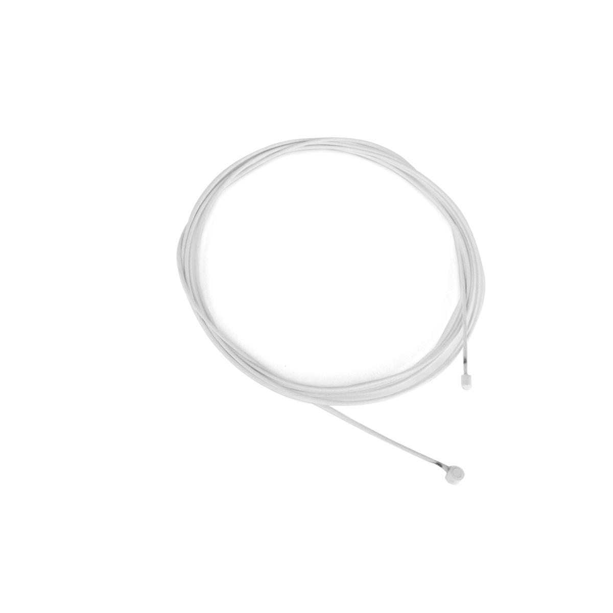 Câble de dérailleur Alligator acier galvanisé 2000x1,2 mm Blanc