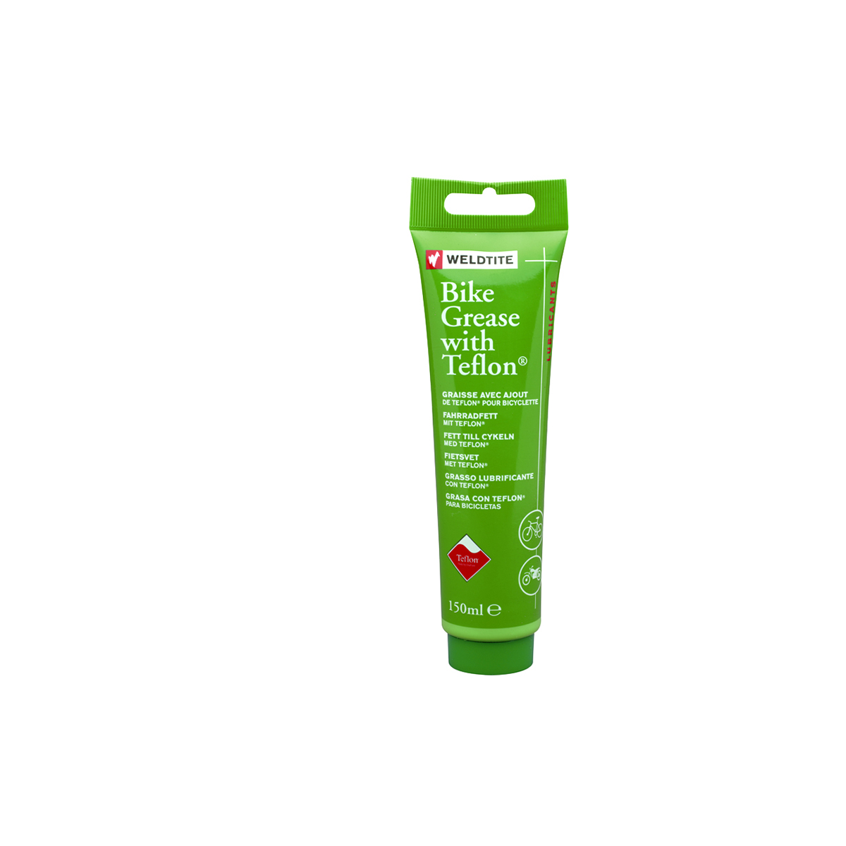Tube de graisse Teflon Weldtite TF2 150 ml