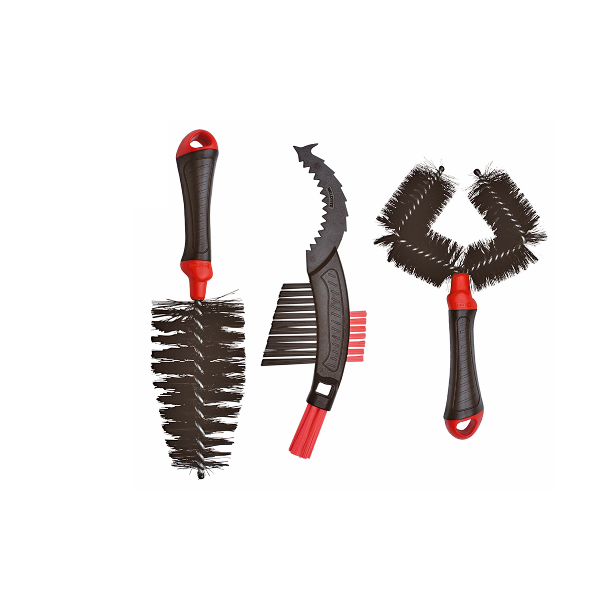 Kit 3 brosses de lavage Weldtite