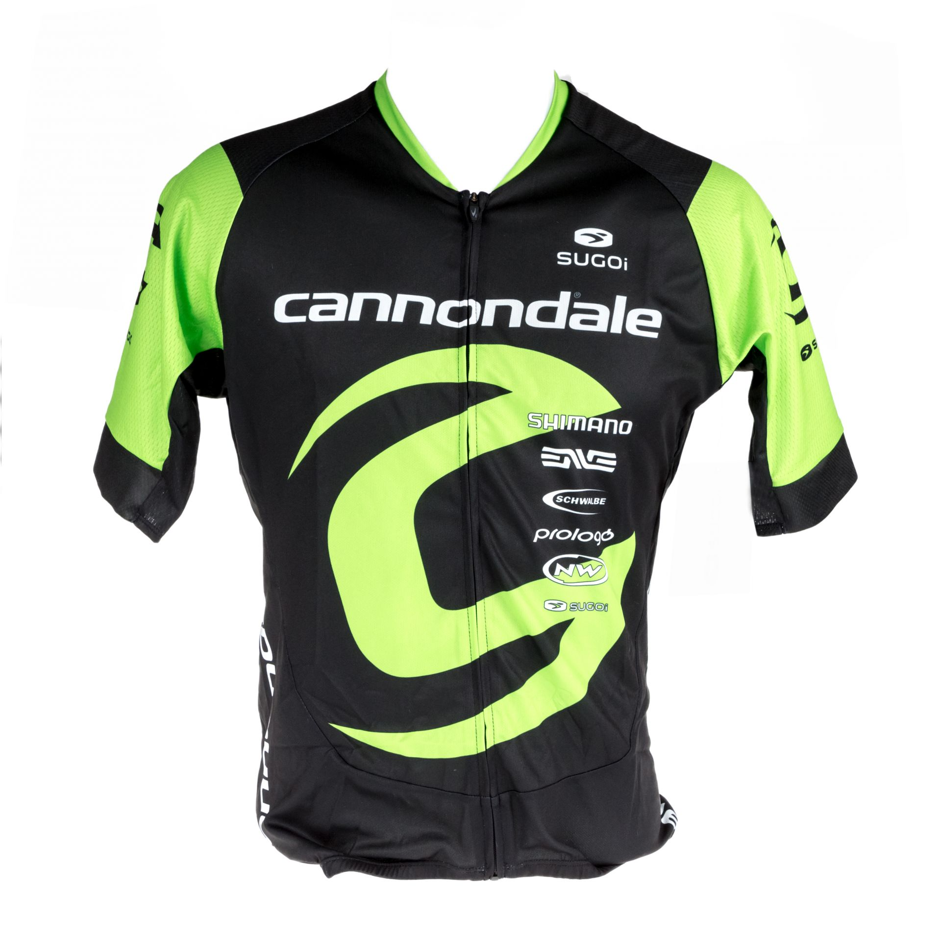 Maillot Cannondale CFR Training by Sugoi Noir/Vert - M