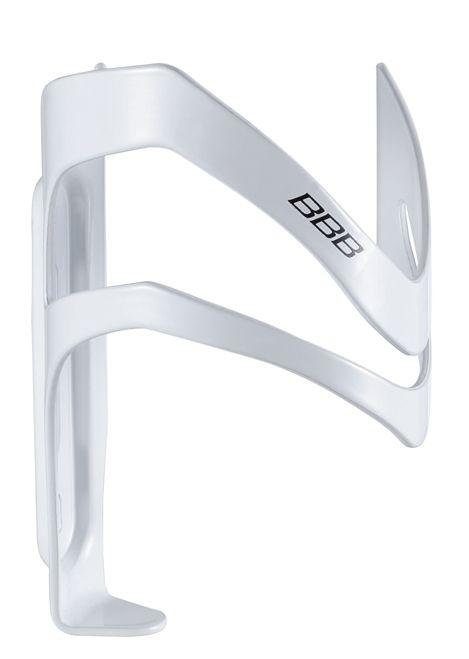Porte-bidon BBB ouverture latérale à droite Sidecage Blanc brillant - BBC-35R