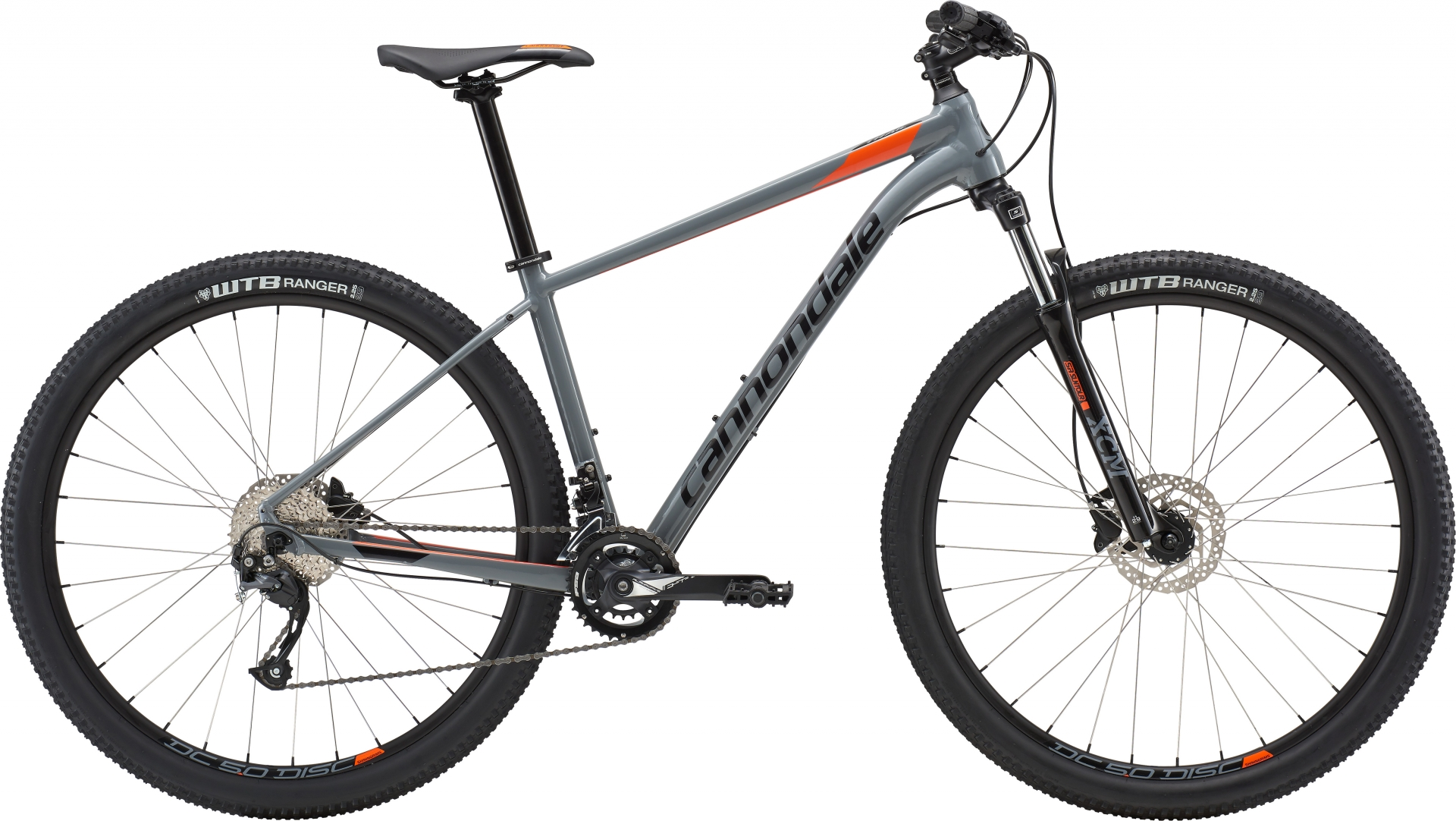 VTT Cannondale Trail 7 27.5/29 Gris/Orange - M / 29